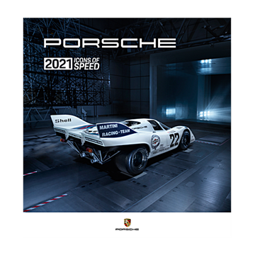 "Porsche Kalender 2021 ""Icons of Speed"""